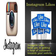 #Instagram helps you in #exploring your #products and #services within the globe. You can get more #likes by simply #uploading your #business related #images and #videos in a short span of #time.