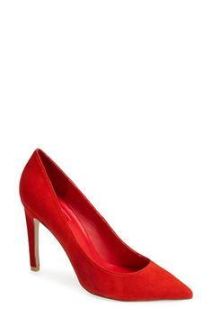 Topshop 'Gemini Suede Court' Pump (Women) available at #Nordstrom
