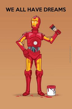 is a very underrated character for all the humor he brings to the series star wars nerd iron man crossover avengers Star Wars Meme, Star Wars Film, Star Wars Art, Star Trek, Star Wars Humour, Starwars, Theme Star Wars, Mundo Nerd, Cultura Nerd