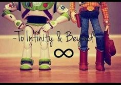 To infinity and....you know the rest