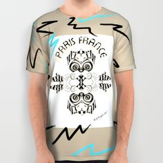 The French Art Hound All Over Print Shirt by Bwilly Bwightt | Society6