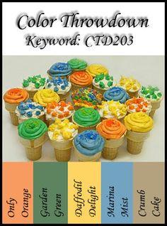 Color Throwdown: Color Throwdown #203