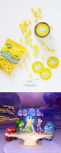 This post has a bunch of FREE PRINTABLES for the Inside Out movie -- so cute @PagingSupermom