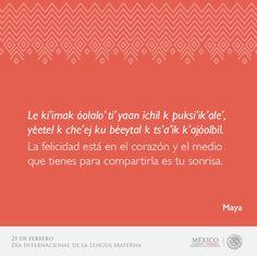 Lenguas maternas - Maya
