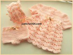 Ravelry: Baby Crochet Pattern JC42P pattern by Justcrochet Designs