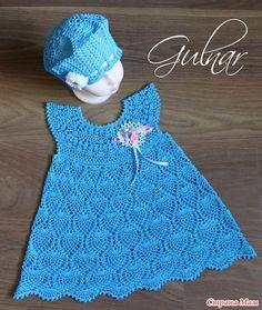 Платье и береточка для доченьки