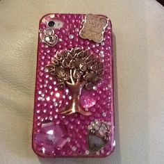Rhinestone iPhone case