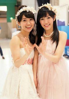 Yuko Oshima, Mayu Watanabe #AKB48