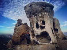 What's the funniest rock formation you've encountered on a hiking adventure in #Tecate? #BajaCalifornia #DiscoverBaja #HealthTravelBC   Image by mini_mau5  #Winter #Photography #Leaves #Trees #Fashion #Art #Nature #Invierno #love #instagood #photooftheday #tbt #beautiful #cute #me #happy #fashion #followme #follow #selfie #picoftheday #friends #instadaily #girl #fun #tagforlikes #smile #PassportReady #ISeeFaces #RTW #TTOT #TravelAddict  #SinFiltros #NoFilter #BajaCalifornia #DiscoverBaja