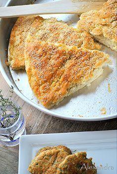 Τυρόψωμο Cheese Recipes, Pie Recipes, Cooking Recipes, Bread Art, Cheese Pies, Greek Recipes, Other Recipes, Feta, Food And Drink