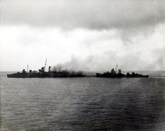 HMAS Canberra and USS Blue