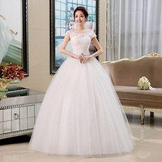 Moda vestido de noiva decote fenda mm cintura fina do vintage vestido de noiva dupla ombro em Vestidos de noiva de Casamentos e Eventos no AliExpress.com | Alibaba Group