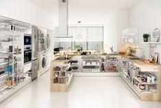 Kitchen Island, Home Decor, Lowes Kitchen Cabinets, Kitchen Storage, Taken Advantage Of, Columns, Closets, Organize, Home