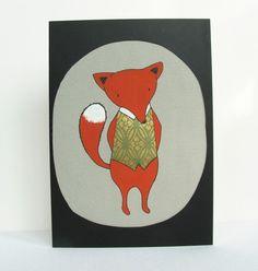 fox in a waistcoat