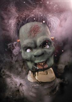 Frankenstein aka Franky, Riki Morvillo on ArtStation at…