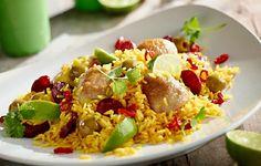 Prosta paella z kurczakiem #lidl #okrasa #przepis #paella