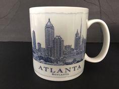 Starbucks Mug 2008 Architecture Series Atlanta GA Hotlanta 18 oz Coffee Tea Cup  #Starbucks