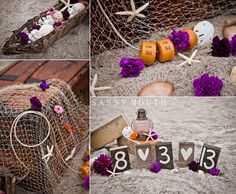 Seaside Beach Wedding - Decoration Inspiration - Country Girl Collections The Little Mermaid - Princess Bride Wedding - Sassy Mouth
