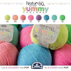 Lote colores Yummy Natura XL - Natura XL - DMC