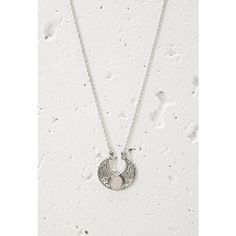 Forever 21 Faux Stone Pendant Necklace (8.17 AUD) ❤ liked on Polyvore featuring jewelry, necklaces, fake pearl necklace, pendants & necklaces, stone necklace pendant, bohemian necklaces and necklaces & pendants