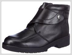 Ganter ELLEN-STIEFEL, Weite G, Damen Kurzschaft Stiefel, Schwarz (schwarz 0100), 41 EU (7.5 Damen UK) - Stiefel für frauen (*Partner-Link)