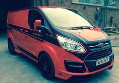 M-Sport Ford Transit Custom Panel Van + Crew Van - RCFS