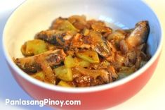 Sardines with Chayote is a common everyday dish. This has been a favorite among majority of Filipino households because it is affordable