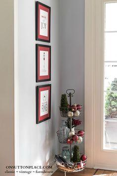 DIY Free Printable Christmas Wall Art