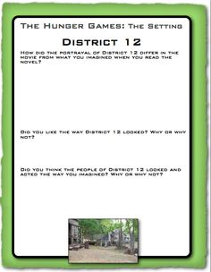 Printables Hunger Games Worksheets english language homeschool and on pinterest classroom freebies utilize the hunger games dvd with free lessons