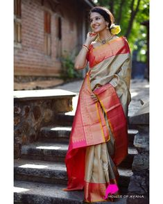 Kanchipuram Silk Sarees Shop in Chennai Bridal Kanchipuram Sarees - House of Ayana Kanjivaram Sarees Silk, Soft Silk Sarees, Latest Silk Sarees, Silk Sarees Online, Buy Designer Sarees Online, Saris, Wedding Silk Saree, Kanchipuram Saree Wedding, Bridal Sarees
