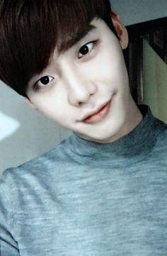 Too cute!Lee Jong Suk