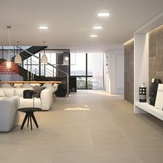 Architonic ivory porcelain floor tiles are a light cream colour and actually appear lighter than shown in the pictures. These large floor tiles with an anti slip finish would make very stylish cream kitchen tiles particularly in open plan living areas. Please contact the Direct Tile Warehouse team tiling advice.