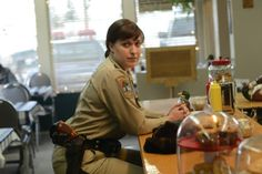 Fargo TV Show On FX episode two - molly | ... Allison Tolman having a talk with Lou her father