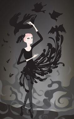 black birds -- an older drawing I did :) Black Bird Fly, Blackbird Singing, Broken Wings, Blackbirds, Learn To Fly, Flocking, Rolling Stones, Bliss, Colour