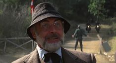 Indiana Jones and the Last Crusade: Sean Connery's Brown Herringbone Suit – The Suits of James Bond Bond Suits, Irish Costumes, Herringbone Suit, Henry Jones, Tweed Suits, Irish Traditions, Sean Connery, Three Piece Suit, Indiana Jones