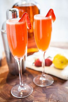 Strawberry Bourbon Lemonade.
