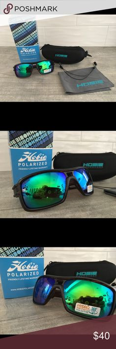 f40672aee23 Hobie Phin Polarized Sunglasses New with tags and box. Hobie Phin Polarized  Sunglasses. Frame