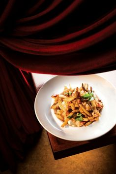 The best restaurant in in Brava Bistro Calgary Restaurants, Top 10 Restaurants, Poutine, Oh The Places You'll Go, Risotto, Dining, Ethnic Recipes, Food, Essen