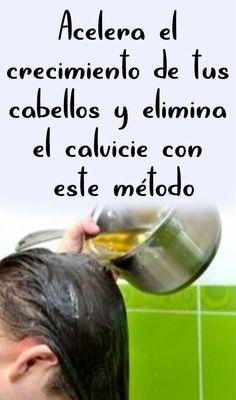Acelera el crecimiento de tus cabellos y elimina el calvicie con este método Bella Beauty, Cabello Hair, Grow Hair, Diy Hairstyles, Makeup Tips, Hair Care, Health Fitness, Hair Color, Hair Beauty