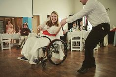 Dealing with wheelchair situations: advice from a roll model