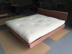 Custom Made Floating Jarrah Base With A Cotton And Latex Core Futon Ausfutons