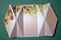Double Diamond Fold  by Joann Jamiesontwitter Make this special fold card with two diamond faces.    Read more: http://www.splitcoaststampers.com/resources/tutorials/doublediamondfold/