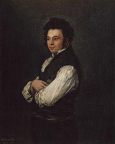 Francisco de Goya y Lucientes: Don Tiburcio Perez y Cuervo, the Architect (30.95.242)   Heilbrunn Timeline of Art History   The Metropolitan Museum of Art