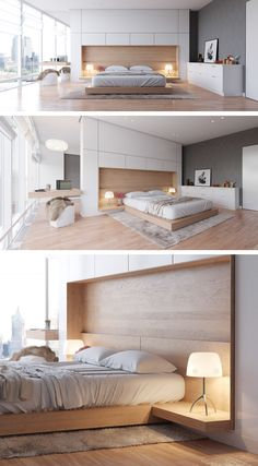 Home Designing — (via 3 Examples of Modern Simplicity)