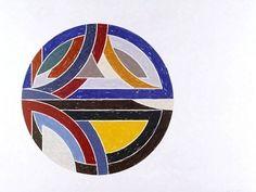 Frank Stella - Sinjerli- Variation lll