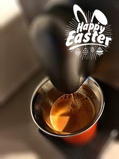 Guten Morgen…wenn der Osterhase zu Besuch kommt gibt es einen #Arpeggio #Kaffee von @Nespresso 🍳 😁 #whatelse #Fontmania