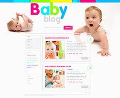 Baby Blog WordPress Themes by Mercury