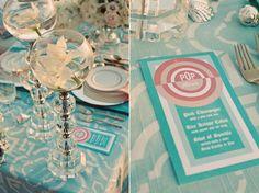 trendy beach wedding reception /