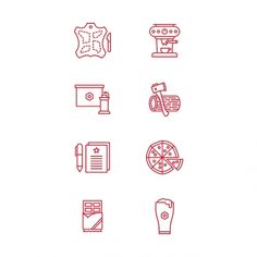 Icons, Symbols & Pictograms / build conference - Tim Boelaars