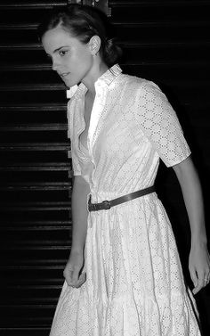 Emma Watson at Chiltern Firehouse in London on June 09, 2016.